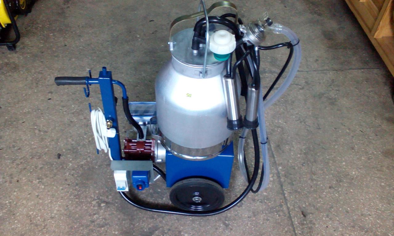 Доильный аппарат АИД-1Р (с масляным компрессором) нержавейка стаканы