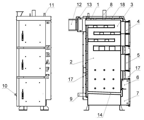 KRAFT L75 кВт