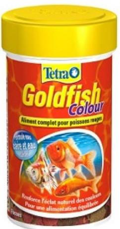 Корм Tetra GoldFish Colour для рыб в хлопьях, улучшение окраса, 250 мл