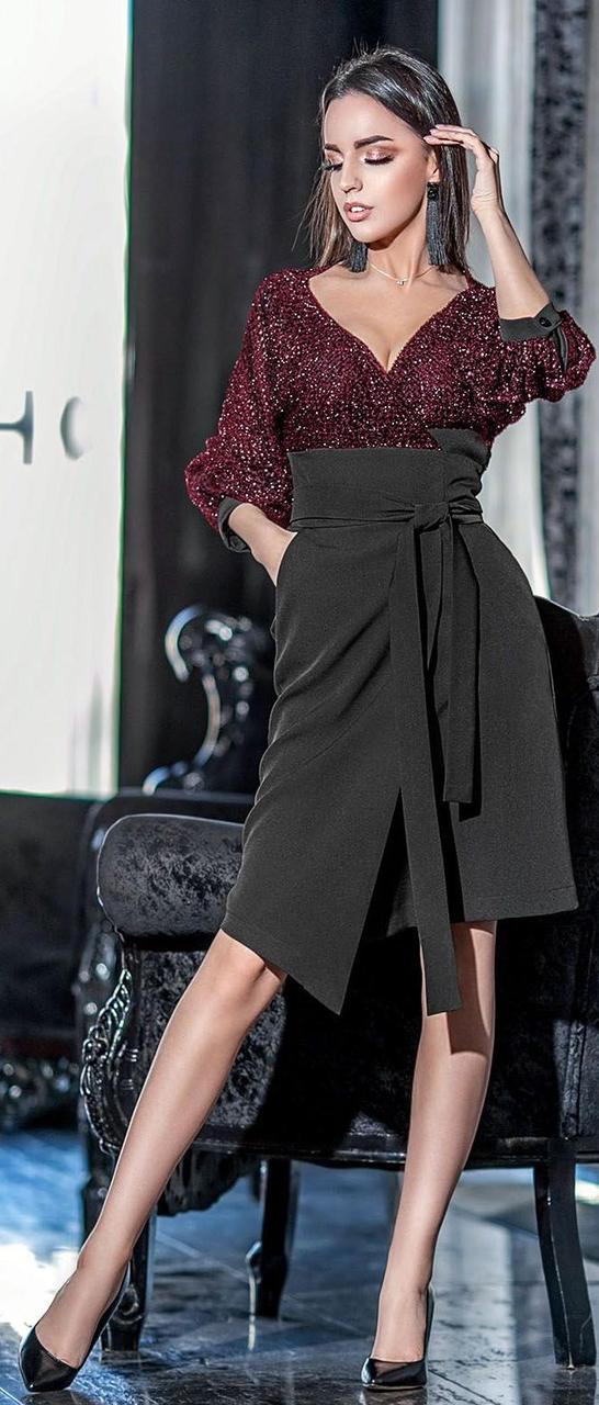 7fffad5d013 Облегающее платье миди с сеткой 42-48 р Ванесса