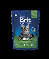 Сухой корм для стерилизованных кошек Brit Premium Sterilized 1.5 кг