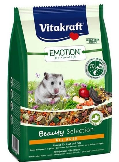 Корм Vitakraft Emotion Beauty Selection для хомяков, 600 г