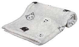 Коврик Trixie Mimi Blanket плюшевый, серый, 70х50 см