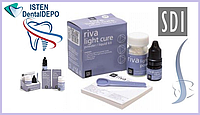 Рива ЛЦ набор    Riva Light Cure: стеклоиономерный пломбировочный материал светового отверждения, SDI