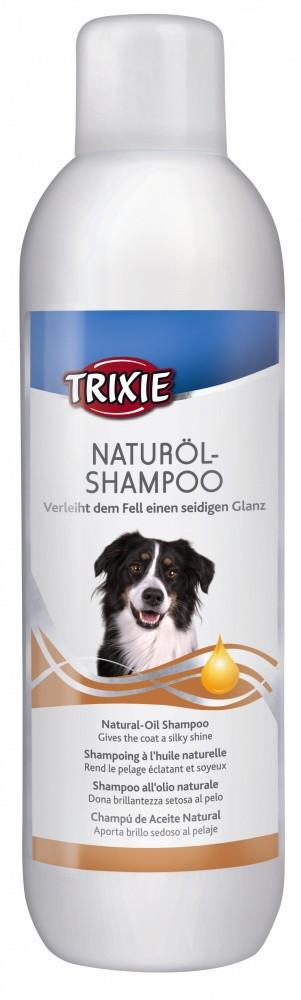 Шампунь Trixie Natural-Oil Shampoo для собак с маслами макадамии и облепихи, 1 л