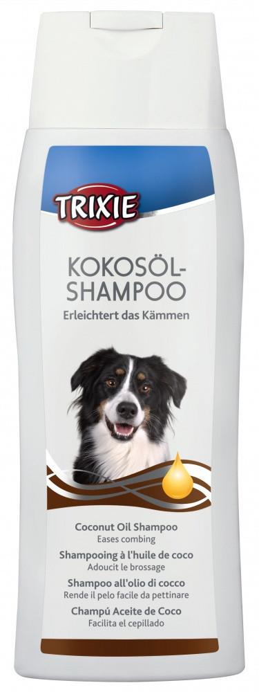 Шампунь Trixie Coconut Oil Shampoo для длинношерстных собак с кокосовым маслом, 250 мл