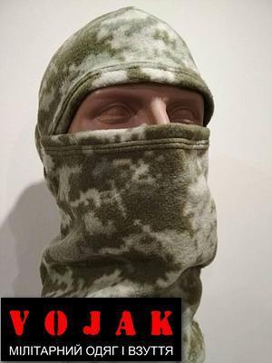 Маска- балаклава флисовая (Украинский пиксель)
