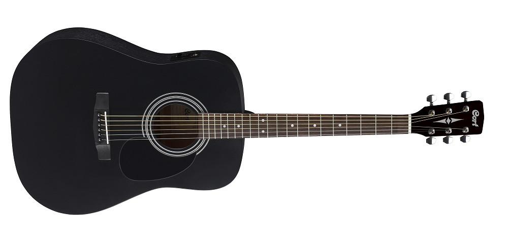 Електро-акустична гітара CORT AD810E (BKS)