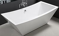 Отдельно стоящая акриловая ванна с сифоном Volle 12-22-344 белая, фото 1
