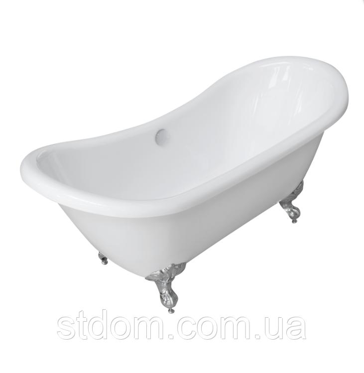 Акриловая ванна на орлиных лапах Volle 12-22-314 белая, фото 1