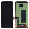 Оригинальный дисплей модуль + сенсор Samsung Galaxy S8 G950A G950F G950P G950T G950U черный, переклеено стекло