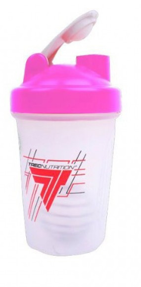 Шейкер TREC Shaker With Metall Ball 400 ml pink
