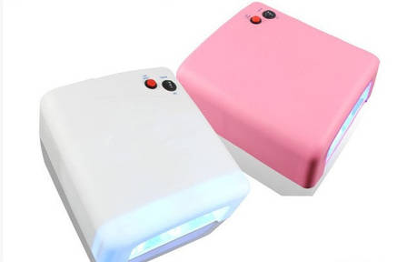 УФ Лампа 818 36W з таймером (різні кольори) Розпродаж CG20, фото 2
