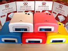 УФ Лампа 818 36W з таймером (різні кольори) Розпродаж CG20, фото 3