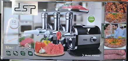 Мясорубка Meat Dessert DSP KM5022 DSP CG14 PR5, фото 2