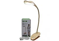 Настольная лампа прищепка LED DP-6014 прищепка