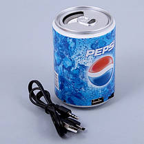 Колонка Пепси HLD100 Mp3 MicroSD, фото 2
