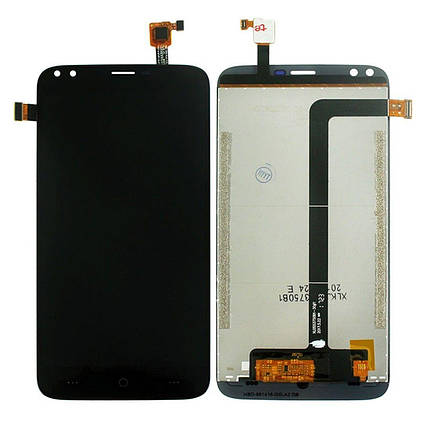 Дисплей (экран) для Doogee X30 с сенсором (тачскрином) черный Оригинал, фото 2