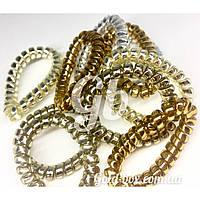 Резинки «бейби Спиральки» фольгированые 10шт