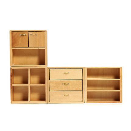купить 112 кукла аксессуары для дома деревянная мебель шкаф для