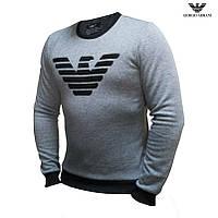 Мужской свитшот толстовка Giorgio Armani свитер батник Армани
