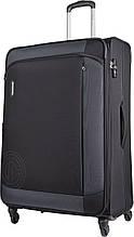 Тканевый большой чемодан Carlton Kent 119J483;01, 105л., черный
