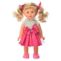 Кукла M 3883-1 S UA Даринка,33см,муз-звук(укр),ходит,песня,на бат,в кор-ке,24,5-36-11см (3883-1 S UA Даринка)
