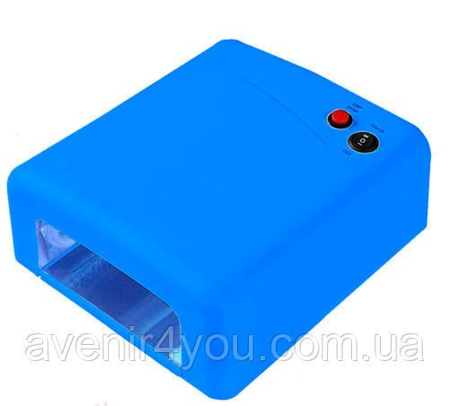 УФ-лампа, 36 Ват, таймер 2 хв. Синя