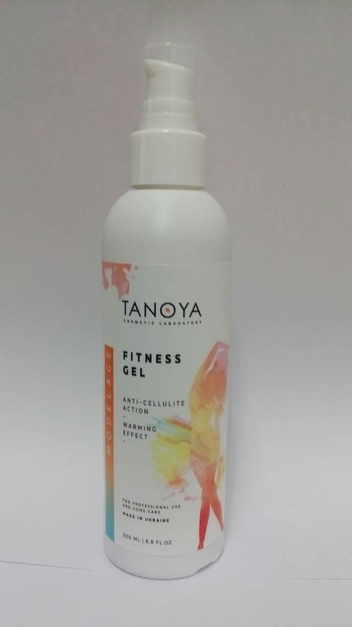 Фитнес-гель антицеллюлитный разогревающий Tanoya
