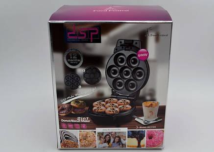 Апарат для виготовлення пончиків DSP KC1103 2 в 1 PR5, фото 2