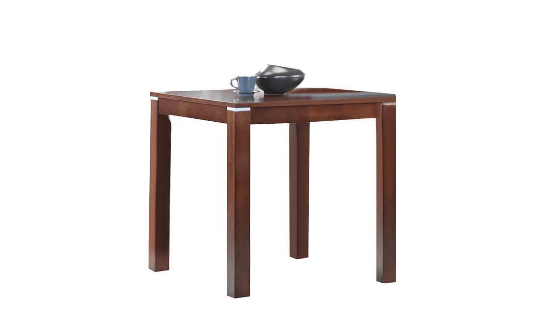 Квадратный стол ТМ-112 ВТ 10, дуб темный