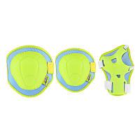 Комплект защитный Nils Extreme H106 Size XS Green/Blue, фото 1