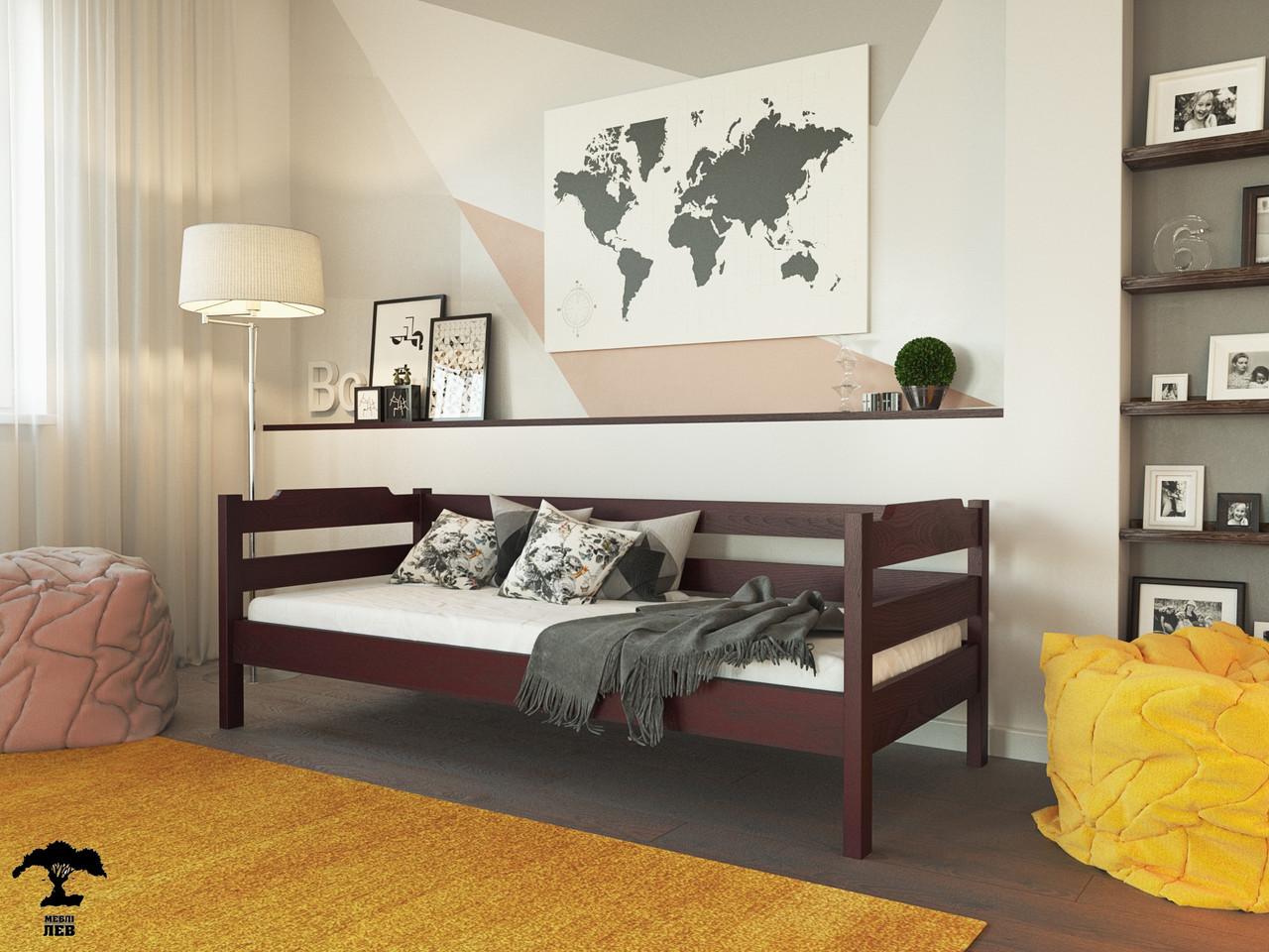 Детская кровать Милена 80х190 см. Лев Мебель