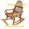 Кресло-качалка из лозы детское