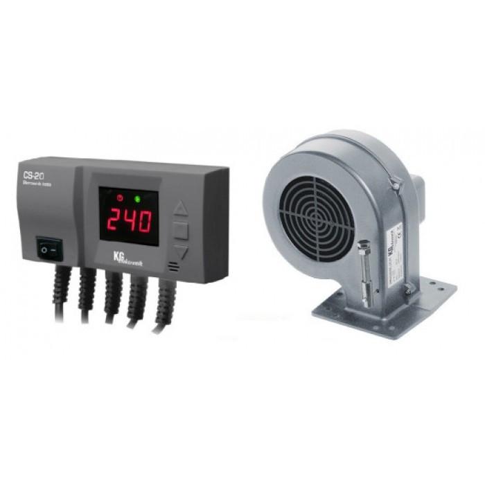 Блок управління з вентилятором KG ELektronik CS-20 + DP-02