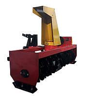 Снігоприбирач шнековий для мототрактора ТМ Володар (захоплення 120 см, привід зліва)