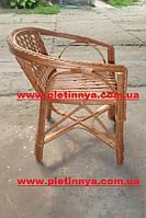 Кресло плетеное из лозы для детей