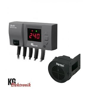 Блок управління з вентилятором KG ELektronik CS-20 + DPA-120