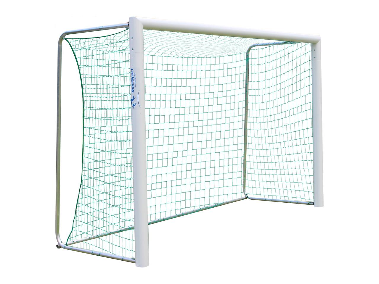 Футбольные ворота RomiSport (алюминиевые) для мини-футбола 3х2 м. FM-0014-FT