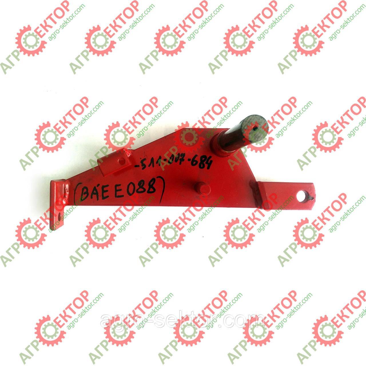 Кронштейн механізму включення в'язального апарату прес-підбирача Famarol Z-511 8245-511-007-684