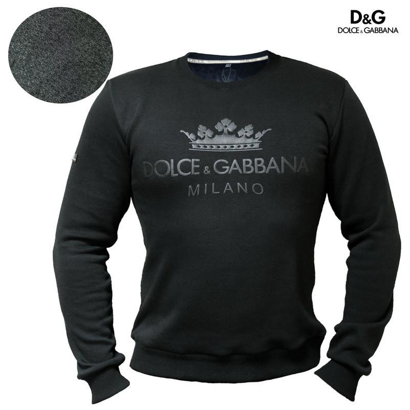 Мужской свитшот толстовка Dolce & Gabbana свитер батник Дольче и Габана