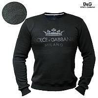 Мужской свитшот толстовка Dolce & Gabbana свитер батник Дольче и Габана, фото 1