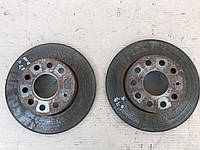 Тормозные диски блины задние Skoda Octavia A5