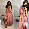 Женское роскошное шелковое платье (расцветки)