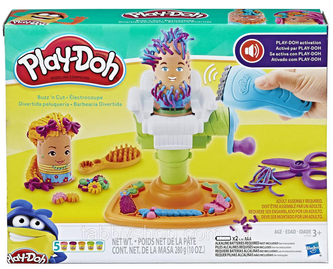 """Игровой набор HASBRO Play Doh """"Сумасшедшая парикмахерская"""""""