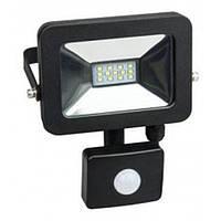 Прожектор LED SMD slim 20W 6500К з датчиком руху (LPES-20C) LUXEL матрична (SMD) (ГАРАНТІЯ 2 РОКИ)