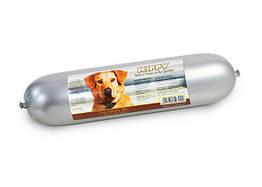 Колбаса Kippy Dog для собак с ягненком, рисом и мясными кусочками, 800 г