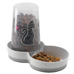 Кормушка автоматическая Moderna Cats in Love для кошек, 1.5 л