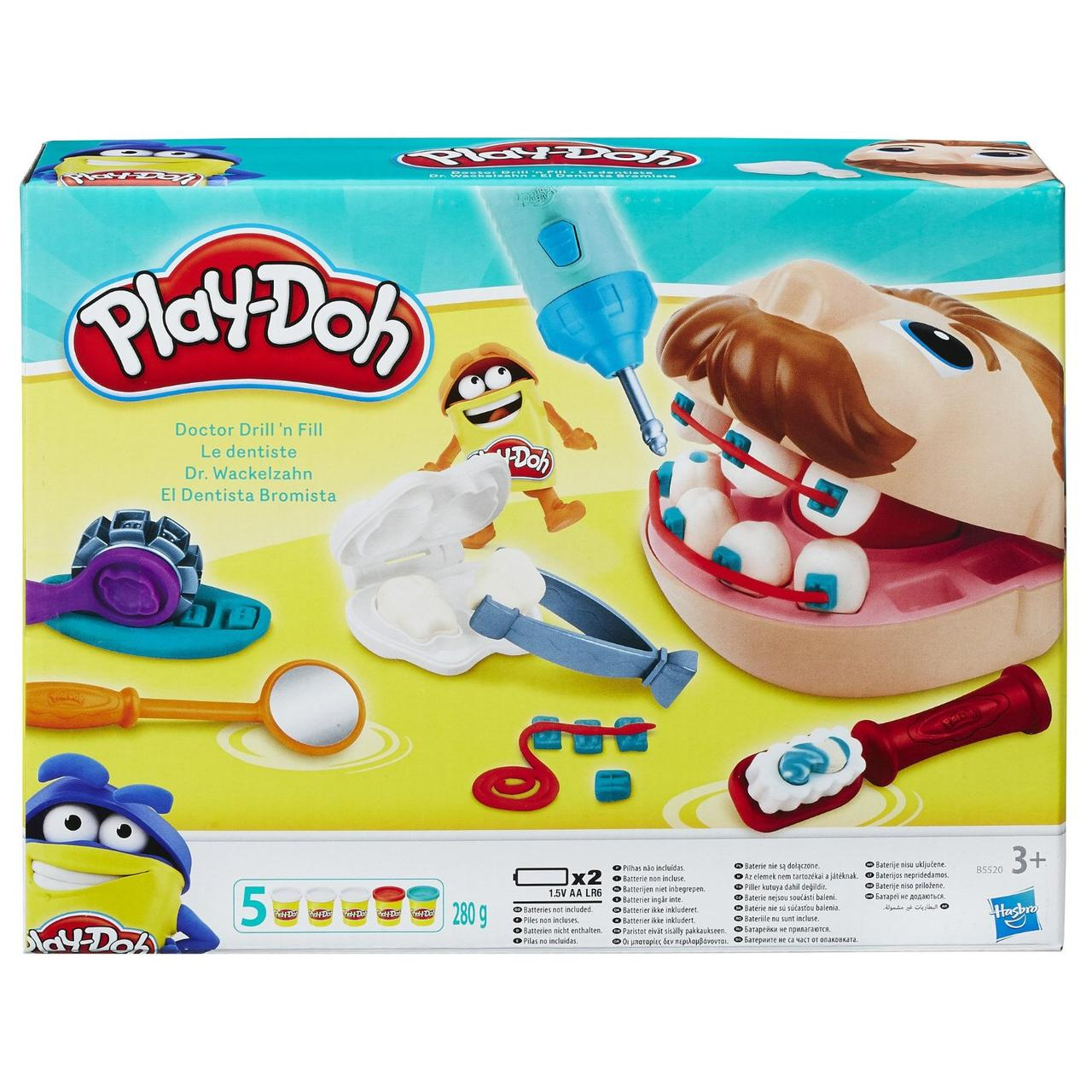 "Игровой набор HASBRO Play Doh ""Мистер Зубастик"""