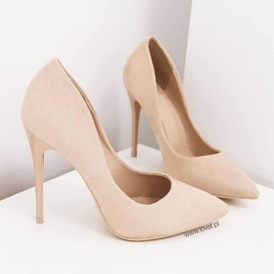 c8d92e478 Купить туфли лодочки недорого бежевый замш - интернет-магазин обуви